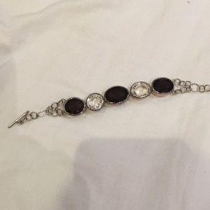 Dark topaz bracelet